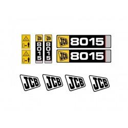 JCB 8014, 8015, 8016, 8017,...