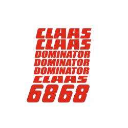 Claas Dominator 68