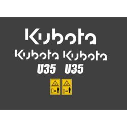 Kubota U 20, 25, 10-3, 27,...