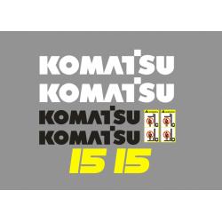 KOMATSU 15