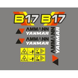 Ammann Yanmar B17