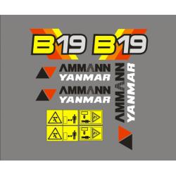 Ammann Yanmar B19