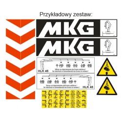 Zestaw naklejek MKG - każdy...